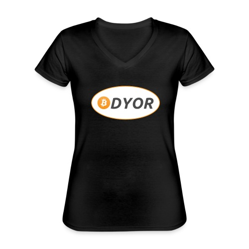 DYOR - option 2 - Classic Women's V-Neck T-Shirt