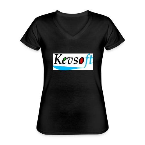 Kevsoft - Classic Women's V-Neck T-Shirt