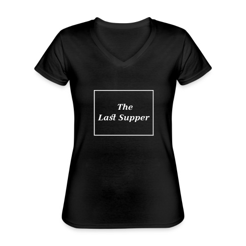 The Last Supper Leonardo Da Vinci Renaissance - Klassisches Frauen-T-Shirt mit V-Ausschnitt