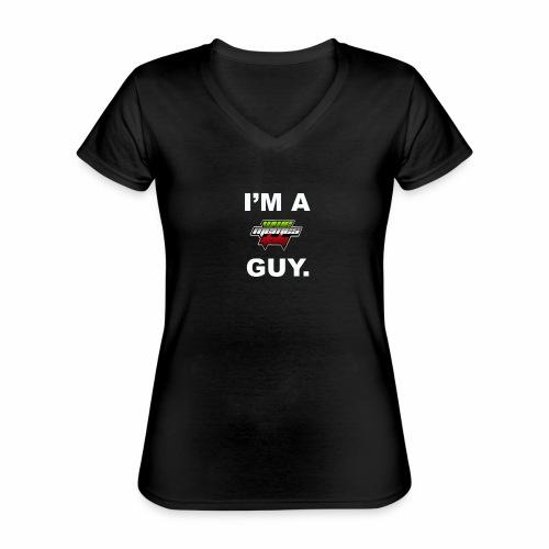 I'm a WMItaly guy! - Maglietta da donna classica con scollo a V
