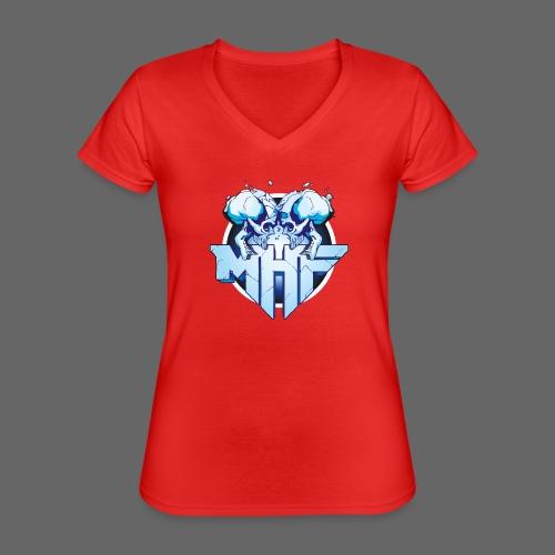 MHF New Logo - Classic Women's V-Neck T-Shirt