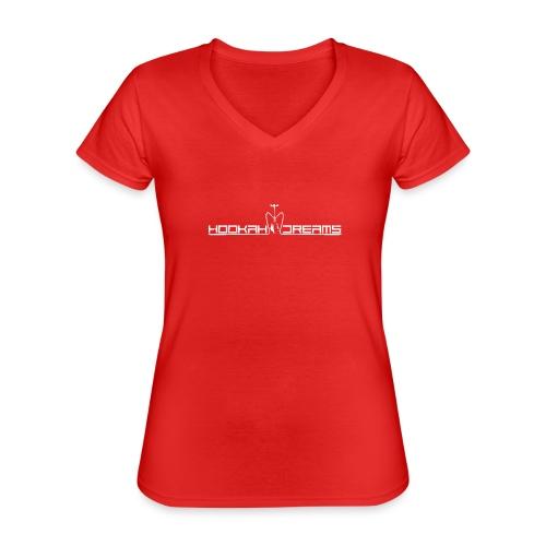 Hookahdreams - Klassisches Frauen-T-Shirt mit V-Ausschnitt