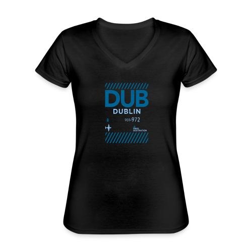 Dublin Ireland Travel - Classic Women's V-Neck T-Shirt