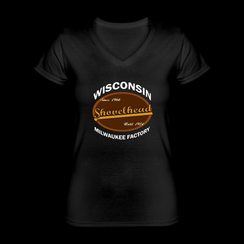Milwaukee Shovelhead - Klassisches Frauen-T-Shirt mit V-Ausschnitt