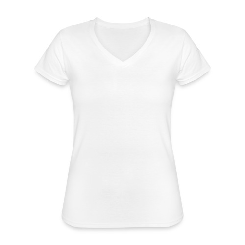 R&M Large Logo tshirt black - Classic Women's V-Neck T-Shirt