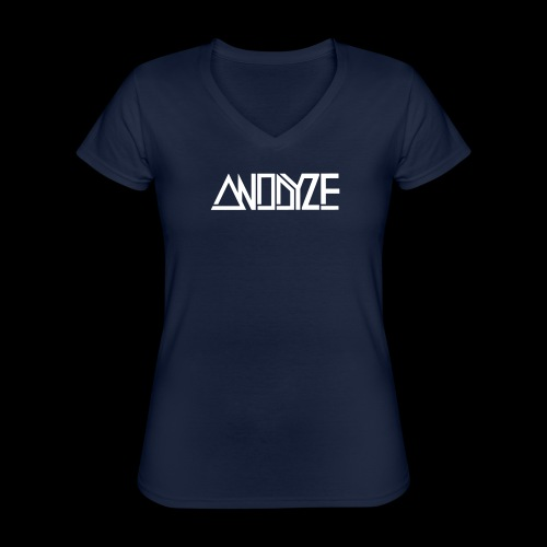 ANODYZE Standard - Klassisches Frauen-T-Shirt mit V-Ausschnitt