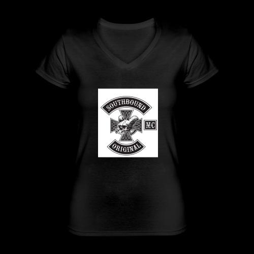 SOUTHBOUND - Klassinen naisten t-paita v-pääntiellä