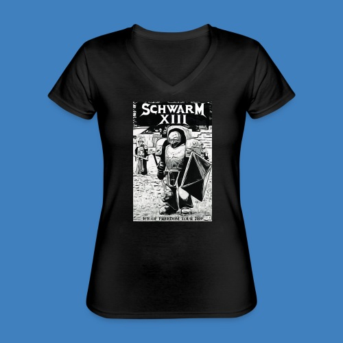 Logo 2019 - Klassisches Frauen-T-Shirt mit V-Ausschnitt