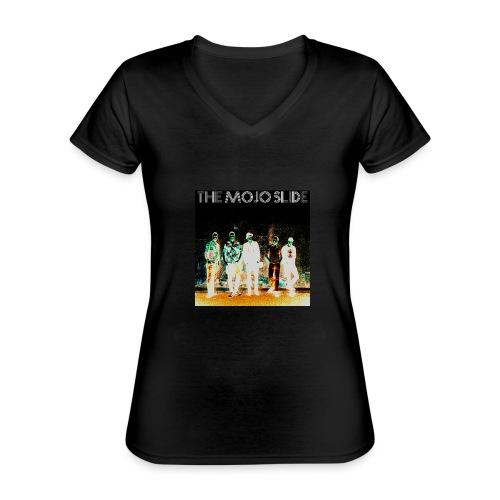 The Mojo Slide - Design 2 - Classic Women's V-Neck T-Shirt