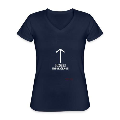 insoumisHyperboréen - T-shirt classique col V Femme