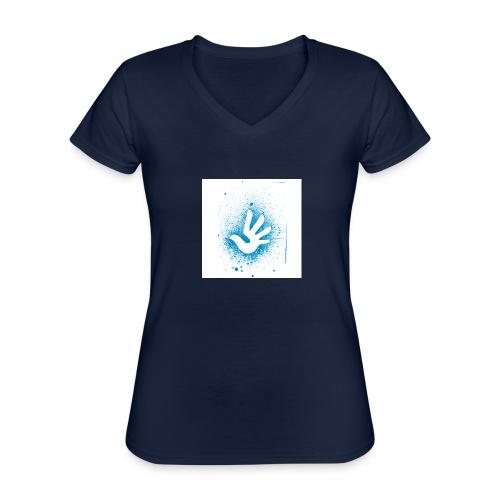 T Shirt 3 - T-shirt classique col V Femme