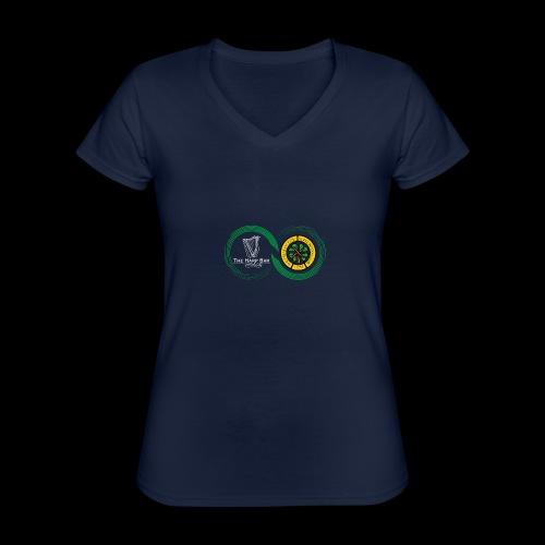 Harp and French CSC logo - T-shirt classique col V Femme