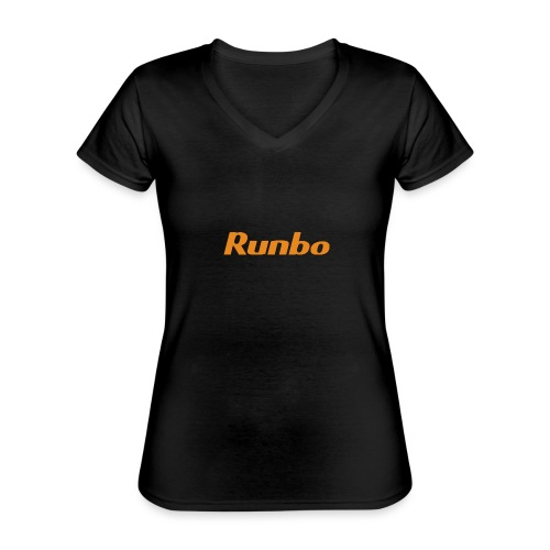 Runbo brand design - Classic Women's V-Neck T-Shirt