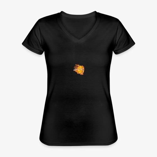 NeverLand Fire - Klassiek vrouwen T-shirt met V-hals