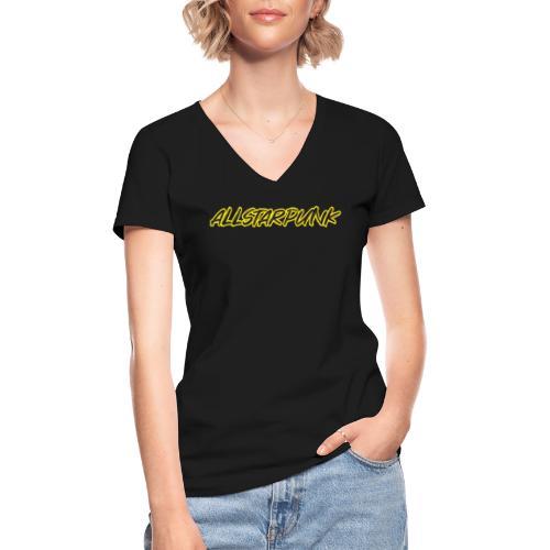 Allstarpunk Urban Graffiti Tag - Classic Women's V-Neck T-Shirt
