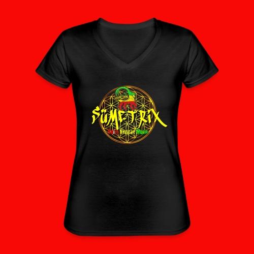 SÜEMTRIX FANSHOP - Klassisches Frauen-T-Shirt mit V-Ausschnitt