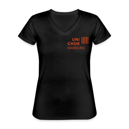 Sopran I - Klassisches Frauen-T-Shirt mit V-Ausschnitt