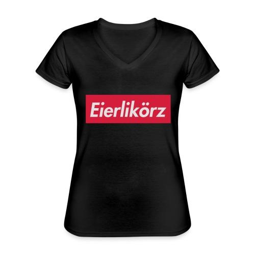 Eierlikörz SSFW 2017 Shirt - Klassisches Frauen-T-Shirt mit V-Ausschnitt