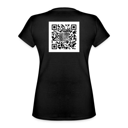 QR Code Another shot of - Klassiek vrouwen T-shirt met V-hals