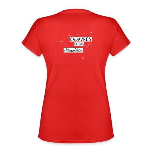 Cadavres Exquis Métropolitains - T-shirt classique col V Femme