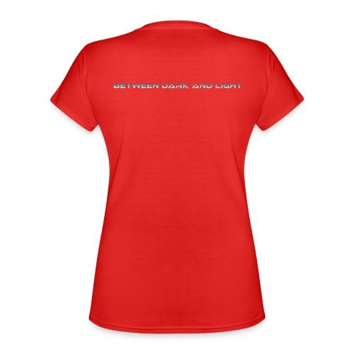 BetweenDarkAndLight Horizontal - Klassinen naisten t-paita v-pääntiellä