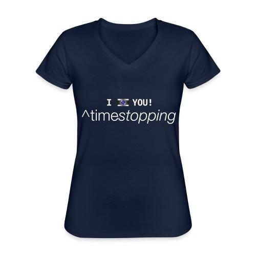 I (photo) you! - Classic Women's V-Neck T-Shirt