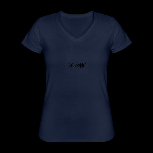 Le Zone Officiel - Klassisk dame T-shirt med V-udskæring