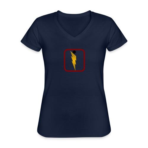Foudre de Taranicité - T-shirt classique col V Femme