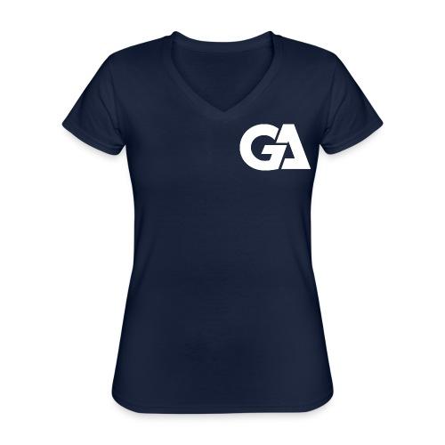Gaming Alliance Wit - Klassiek vrouwen T-shirt met V-hals