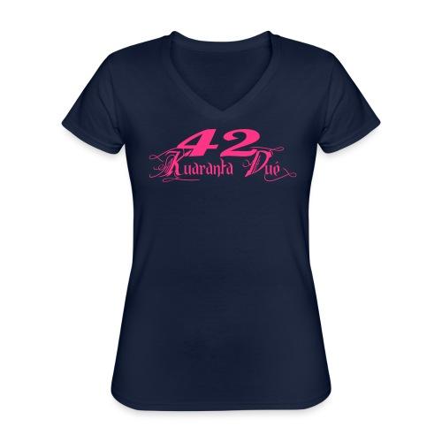LOGO KD CLASSIK - T-shirt classique col V Femme