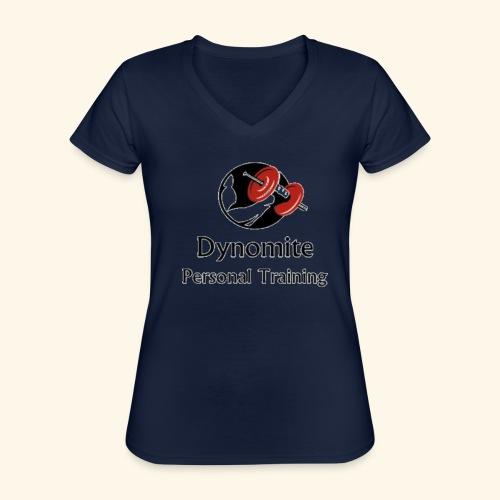 Dynomite Personal Training - Classic Women's V-Neck T-Shirt