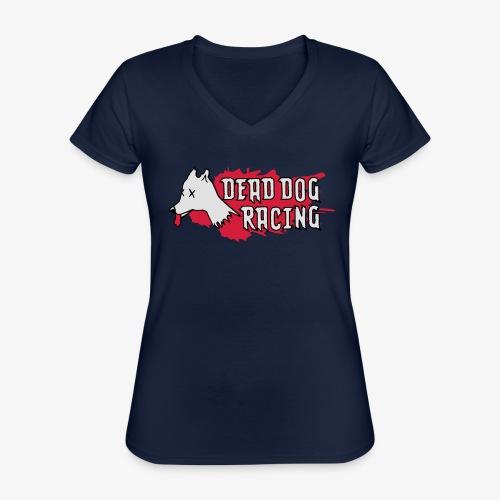 Dead dog racing logo - Classic Women's V-Neck T-Shirt