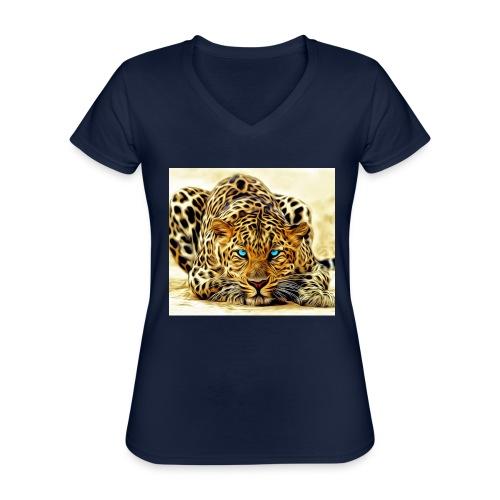 IL SIMBOLO DEL CANALE - Maglietta da donna classica con scollo a V