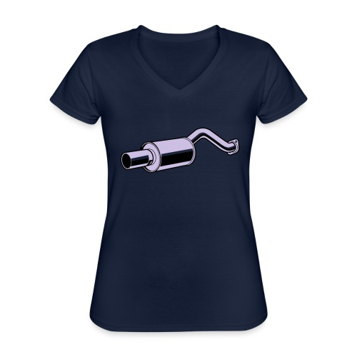 Muffler F - T-shirt classique col V Femme