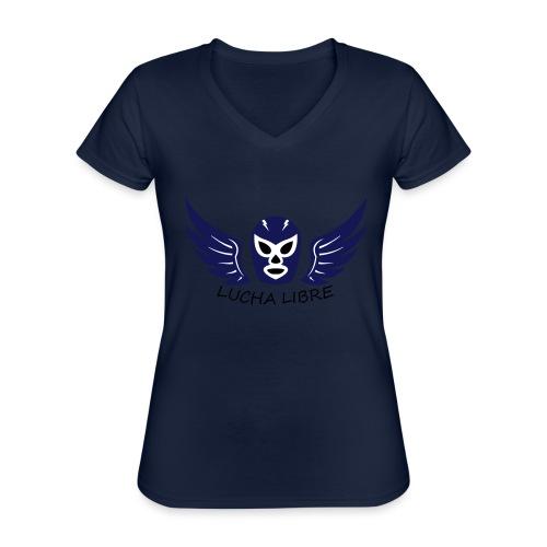 Lucha Libre - T-shirt classique col V Femme