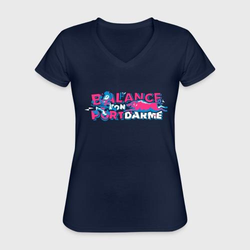Balance ton port d'arme - T-shirt classique col V Femme