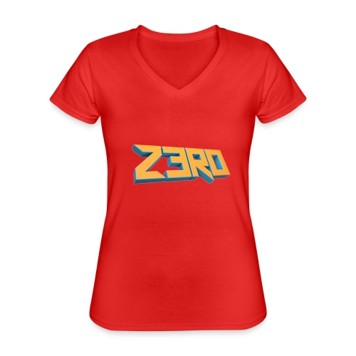 The Z3R0 Shirt - Classic Women's V-Neck T-Shirt