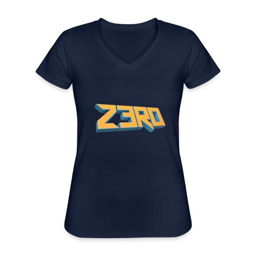 The Z3R0 Shirt - Classic Women's V-Neck T-Shirt