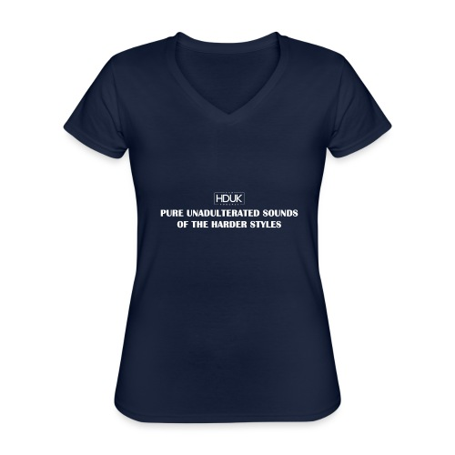 The HDUK Podcast - Pure Unadulterated - Classic Women's V-Neck T-Shirt