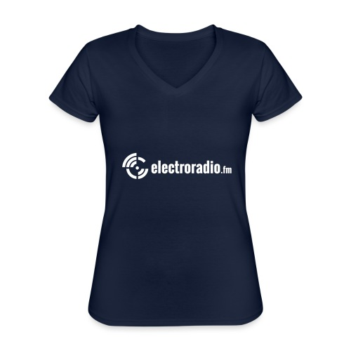 electroradio.fm - Classic Women's V-Neck T-Shirt