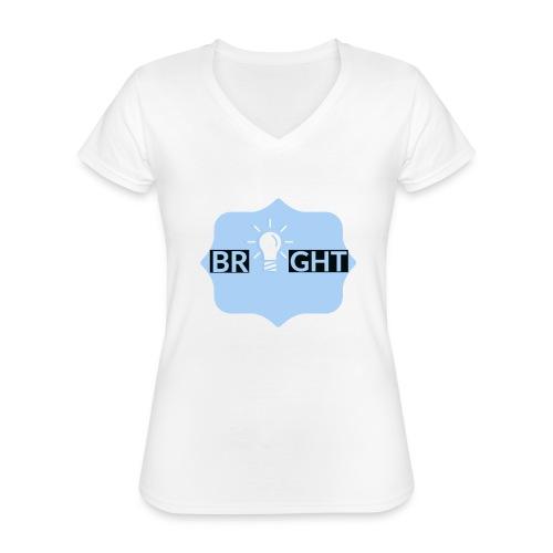 Bright - Classic Women's V-Neck T-Shirt