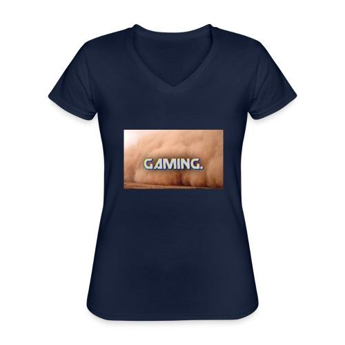 GamingDust LOGO - Classic Women's V-Neck T-Shirt