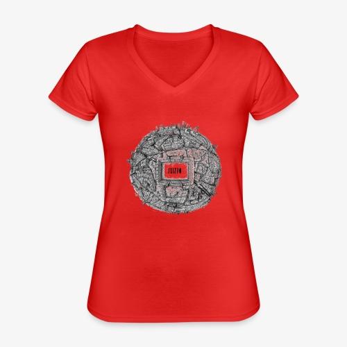 Madrid - Classic Women's V-Neck T-Shirt