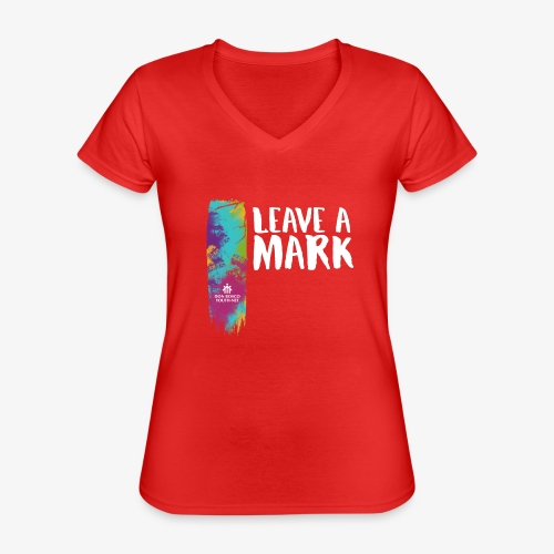 Leave a mark - Classic Women's V-Neck T-Shirt
