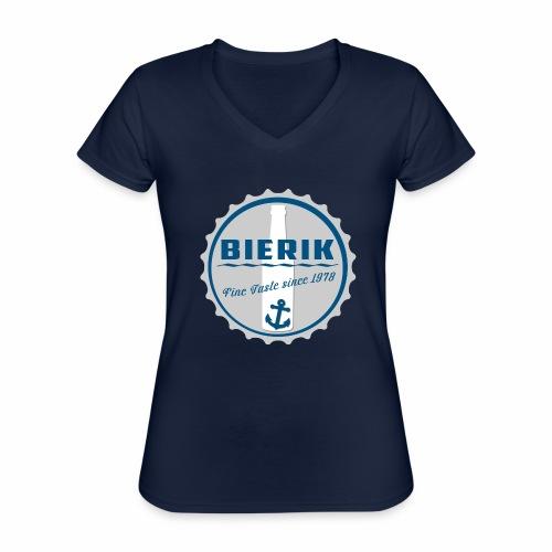 BaseCap A - Klassisches Frauen-T-Shirt mit V-Ausschnitt