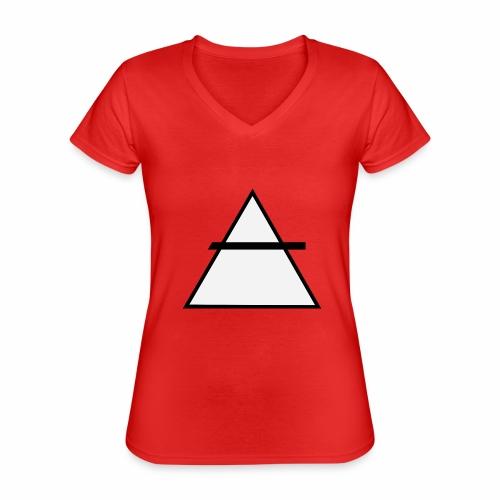 ALKIMASTA - T-shirt classique col V Femme