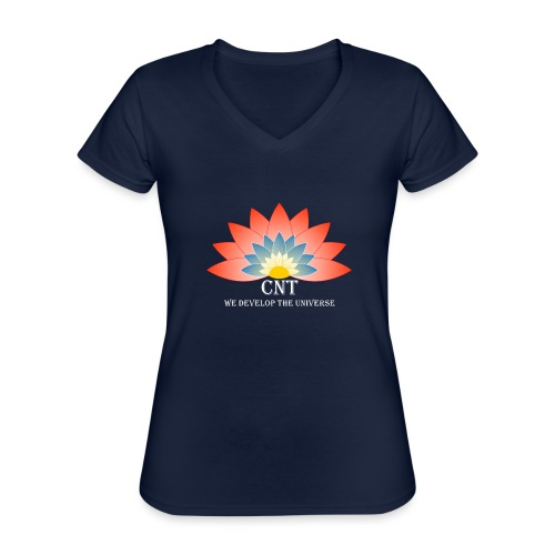 Support Renewable Energy with CNT to live green! - Classic Women's V-Neck T-Shirt