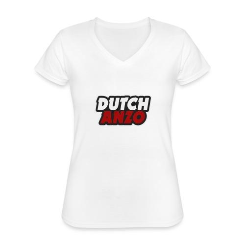 dutchanzo - Klassiek vrouwen T-shirt met V-hals
