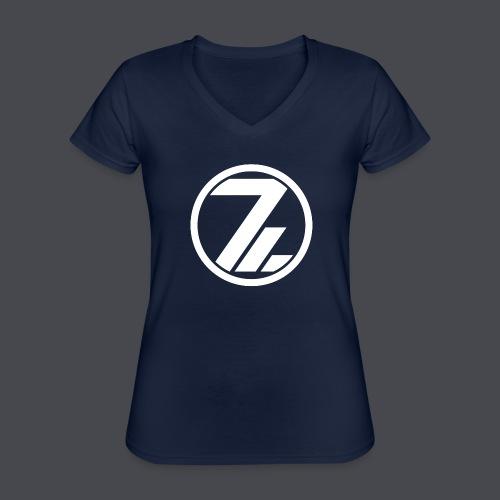 OutsiderZ Hoodie 3 - Klassisches Frauen-T-Shirt mit V-Ausschnitt