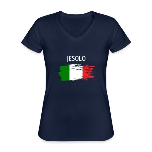 Jesolo Fanprodukte - Klassisches Frauen-T-Shirt mit V-Ausschnitt